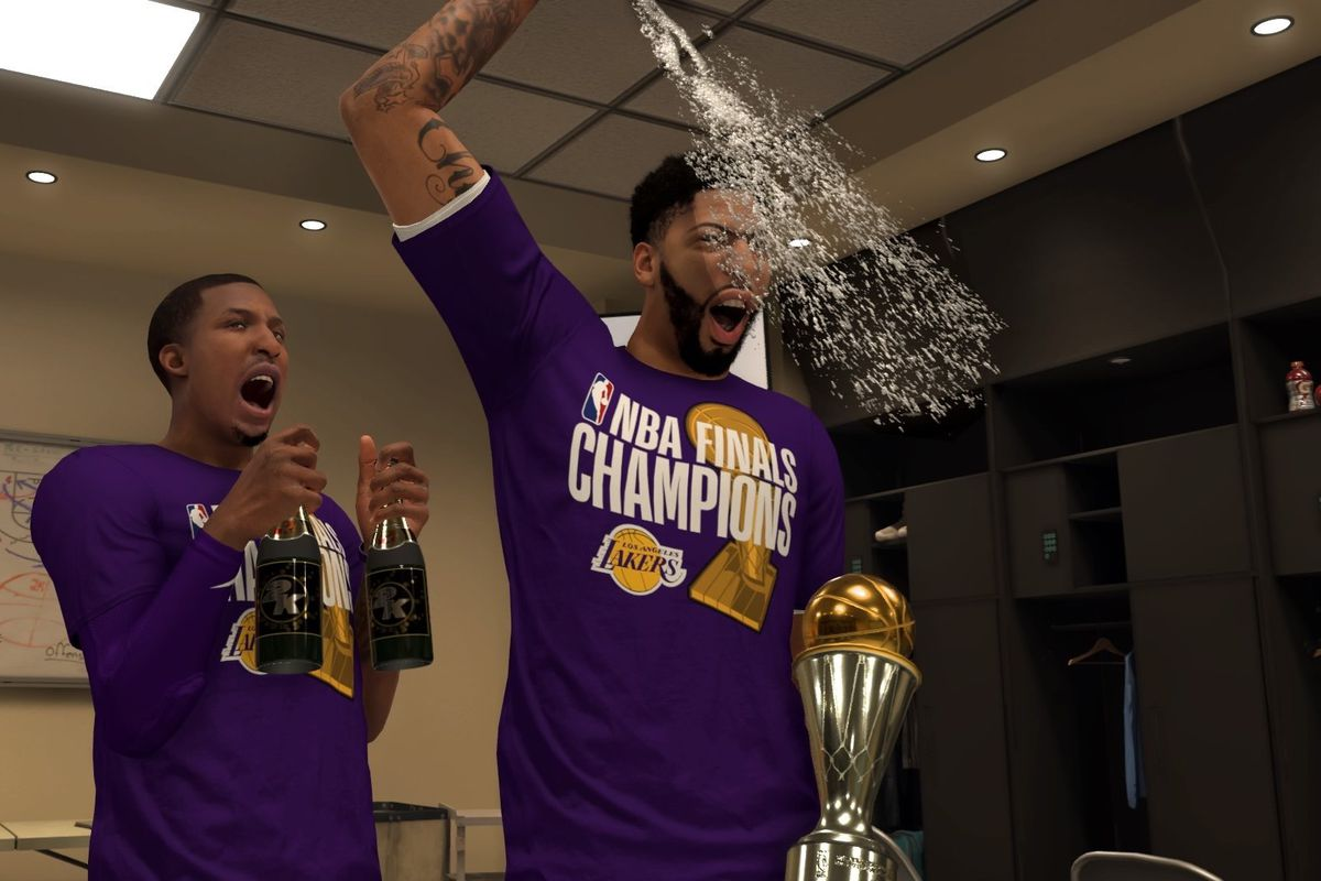 Simulating Three What If Scenarios For Lakers On Nba 2k20