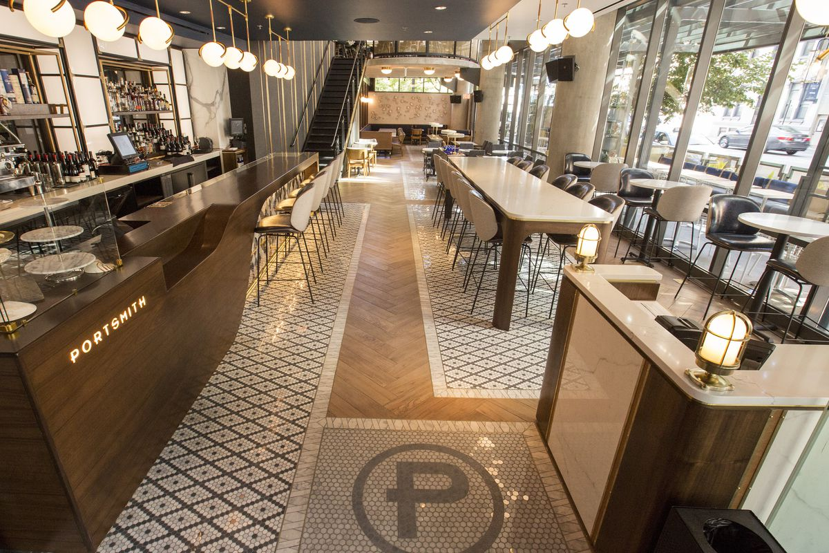 Explore river north s new sleek and stylish upscale for Fish restaurant chicago