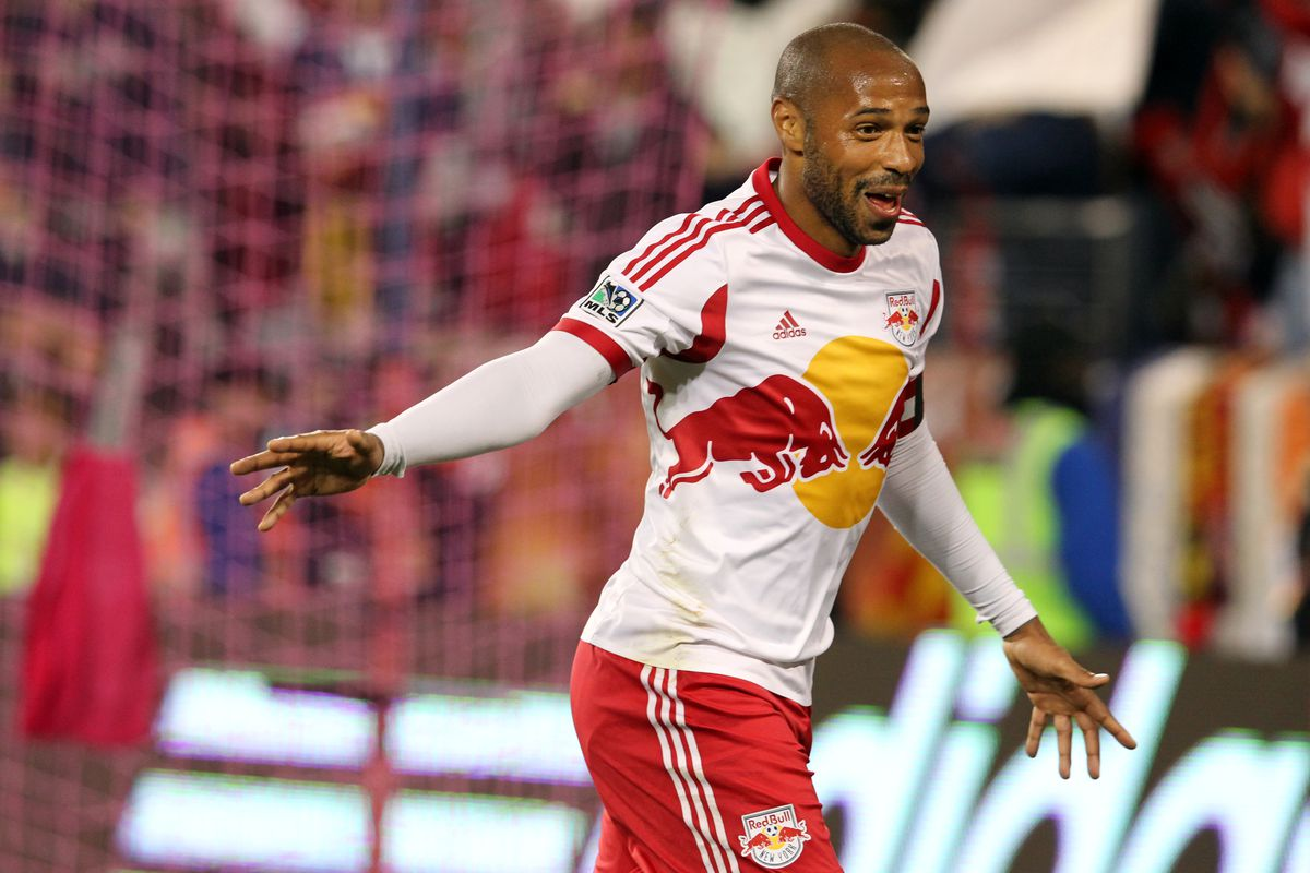 Thierry Henry: Magisterial even in my nightmares. Damn it.