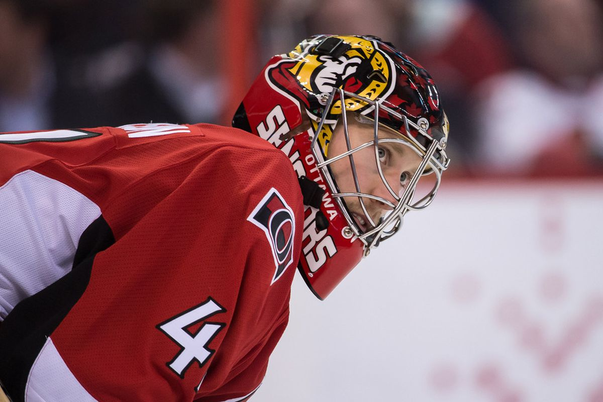 Chris Phillips does a great Craig Anderson impression.