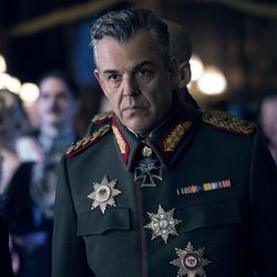 """This image released by Warner Bros. Entertainment shows Danny Huston in a scene from """"Wonder Woman,"""" in theaters on June 2. (Clay Enos/Warner Bros. Entertainment via AP)"""