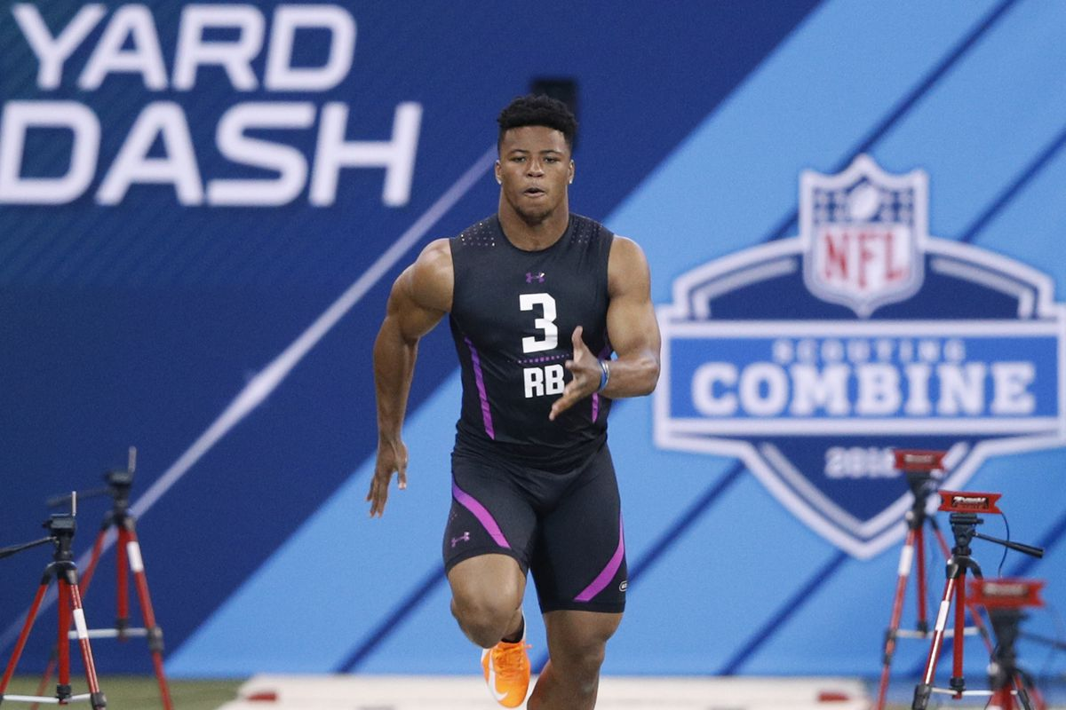 7 signs Saquon Barkley was one of NFL Combine's best ever - SBNation com