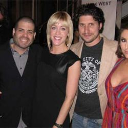 Alfredo Sandoval, Wendy Wohlfeill, Ryan Poli and Kelli Zink