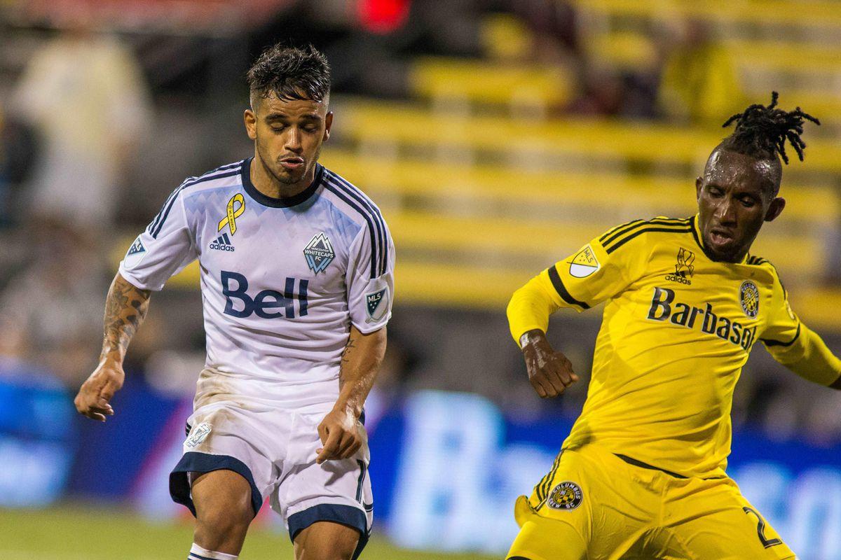 MLS: Vancouver Whitecaps FC at Columbus Crew SC