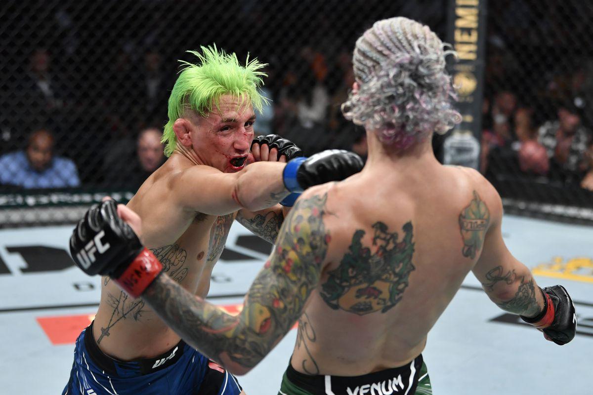 UFC 264: O'Malley v Moutinho