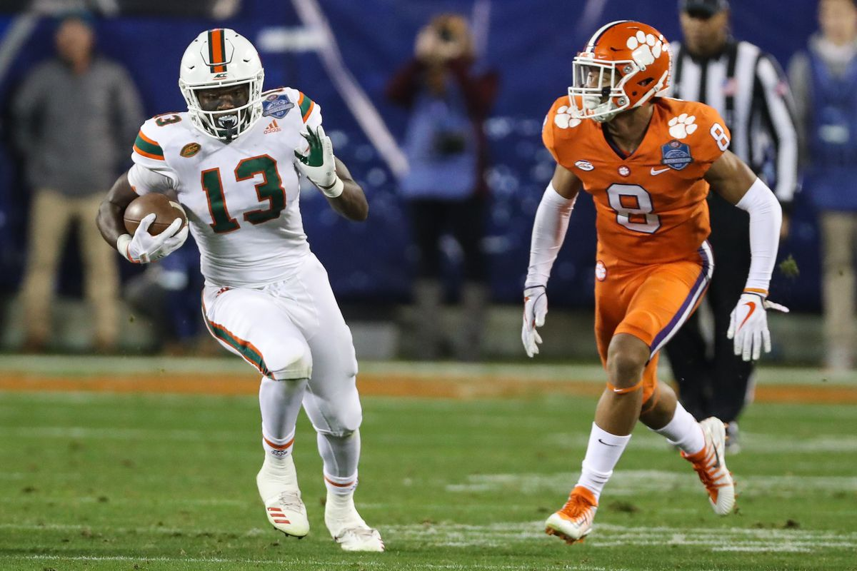 Miami Hurricanes Football Early Prediction For The Two Deep Vs Lsu Part One