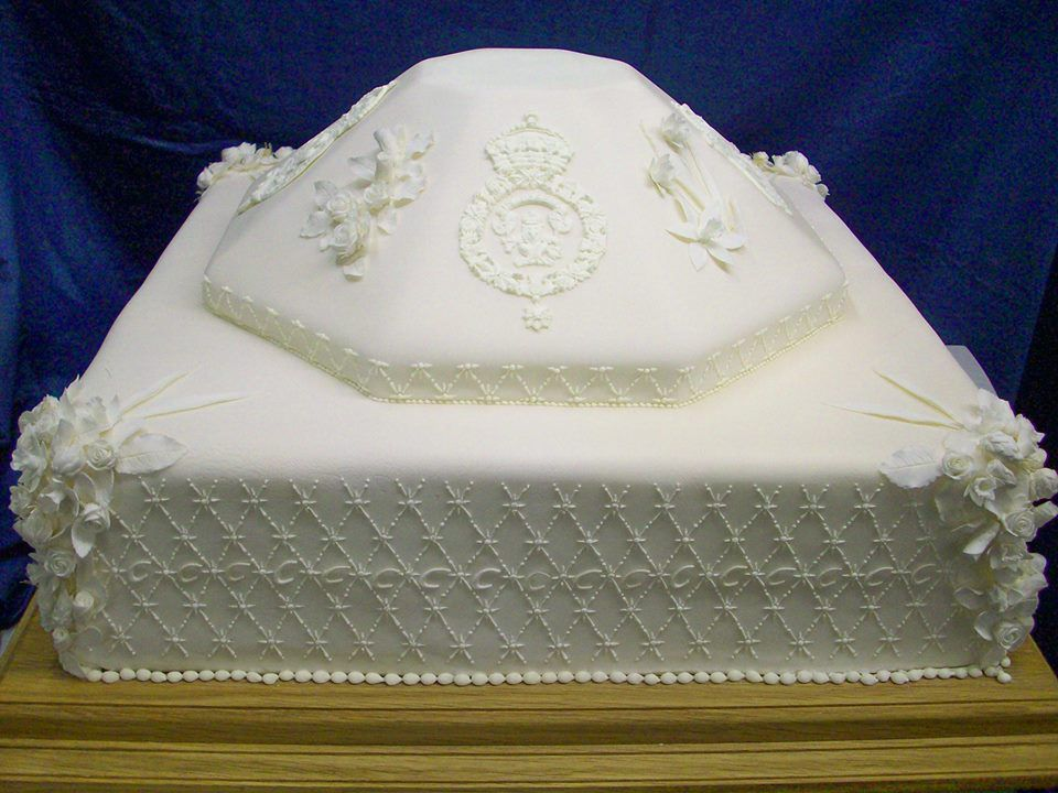 british royal wedding cakes over the years eater british royal wedding cakes over the
