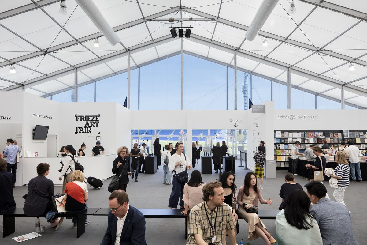 Design Studio New York frieze new york: the architecture of the new york art fair