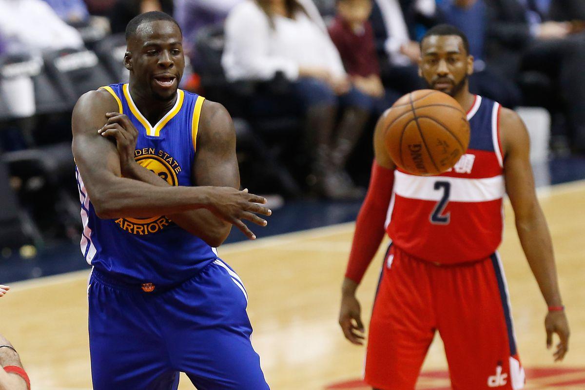 NBA: Golden State Warriors at Washington Wizards