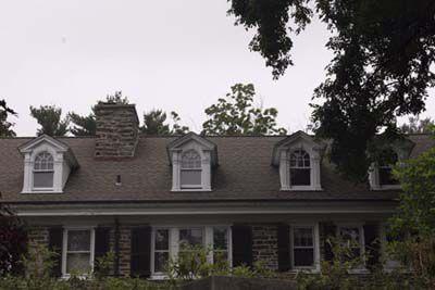 Pedimented Palladian Dormer Windows