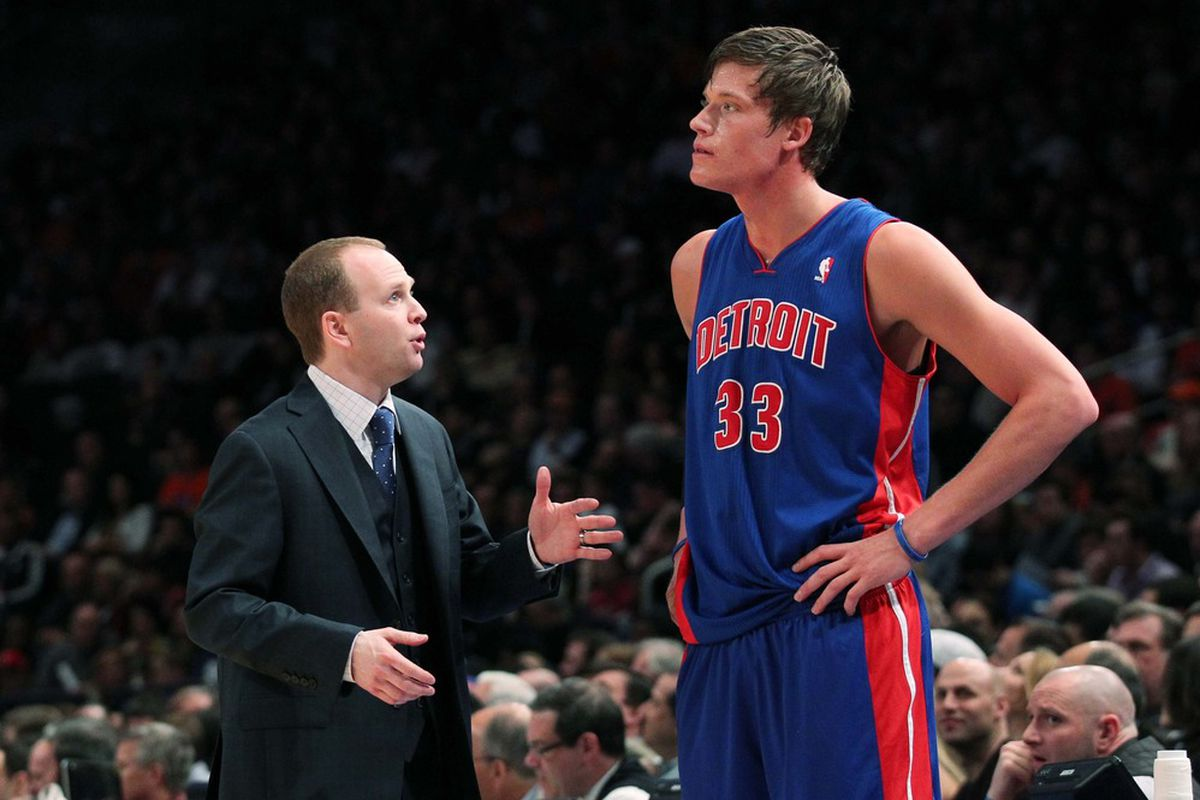 Can Lawrence Frank facilitate improved play from Jonas Jerebko? The Pistons could surely use it.