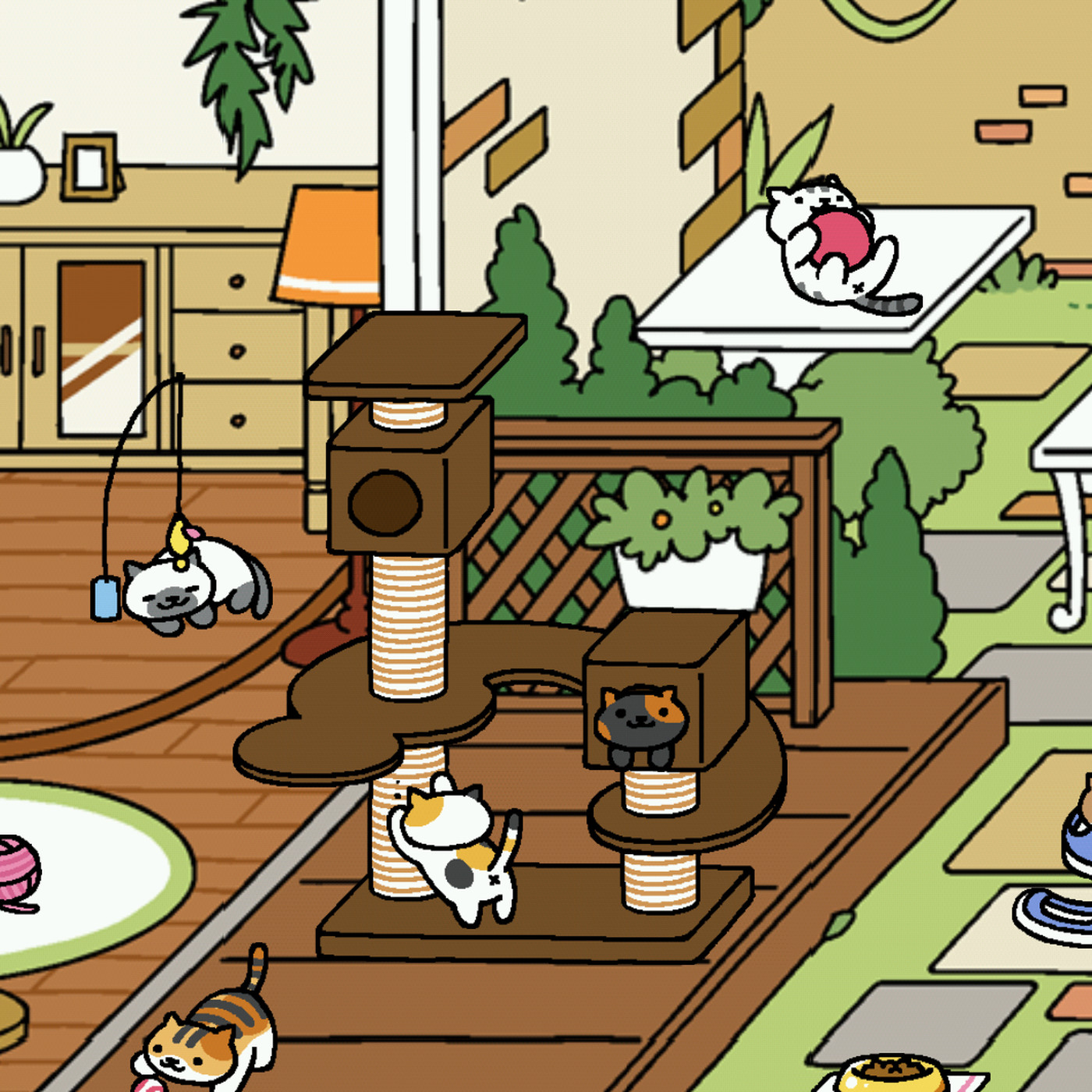 The best Japanese cat-collecting game is finally available