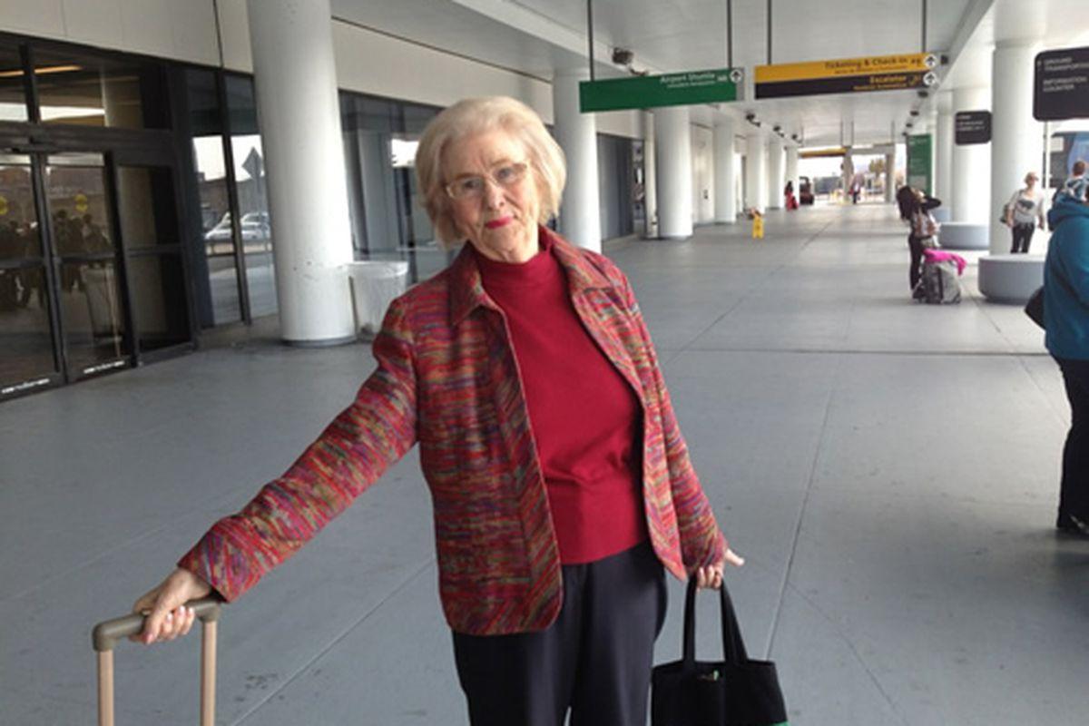 Marilyn Hagerty at LaGuardia