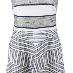 "Blue Sleeveless Dress with Chevron Insert Detail, $400 via<a href=""https://www.lyst.co.uk/clothing/31-phillip-lim-sleeveless-dress-with-chevron-insert-detail-navy/""> Lyst </a>"