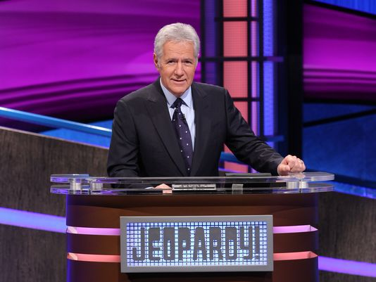 """Alex Trebek is host of the syndicated game show """"Jeopardy!"""" He hosted his first show 36 years ago, on Sept. 10, 1984."""