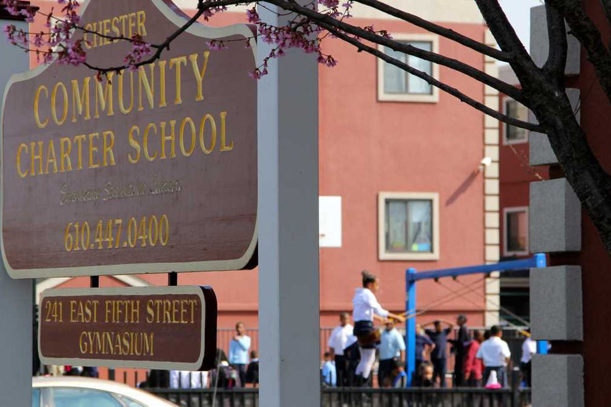 Exterior of Chester Community Charter School.
