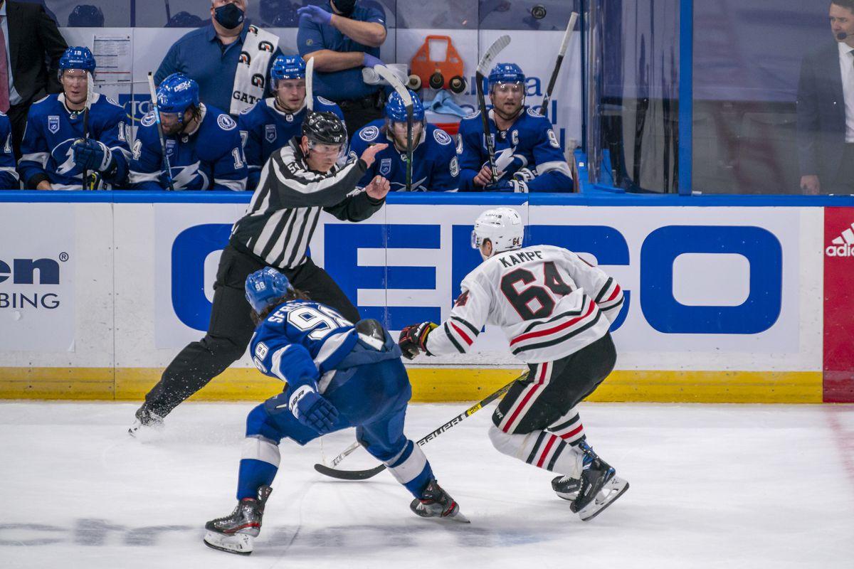 NHL: JAN 13 Blackhawks at Lightning