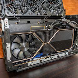 <em>Fitting an RTX 3080 Ti GPU.</em>