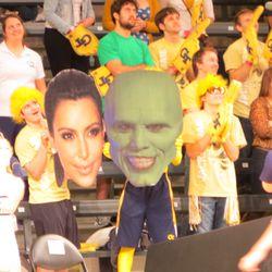The Mask and Kim Kardashian