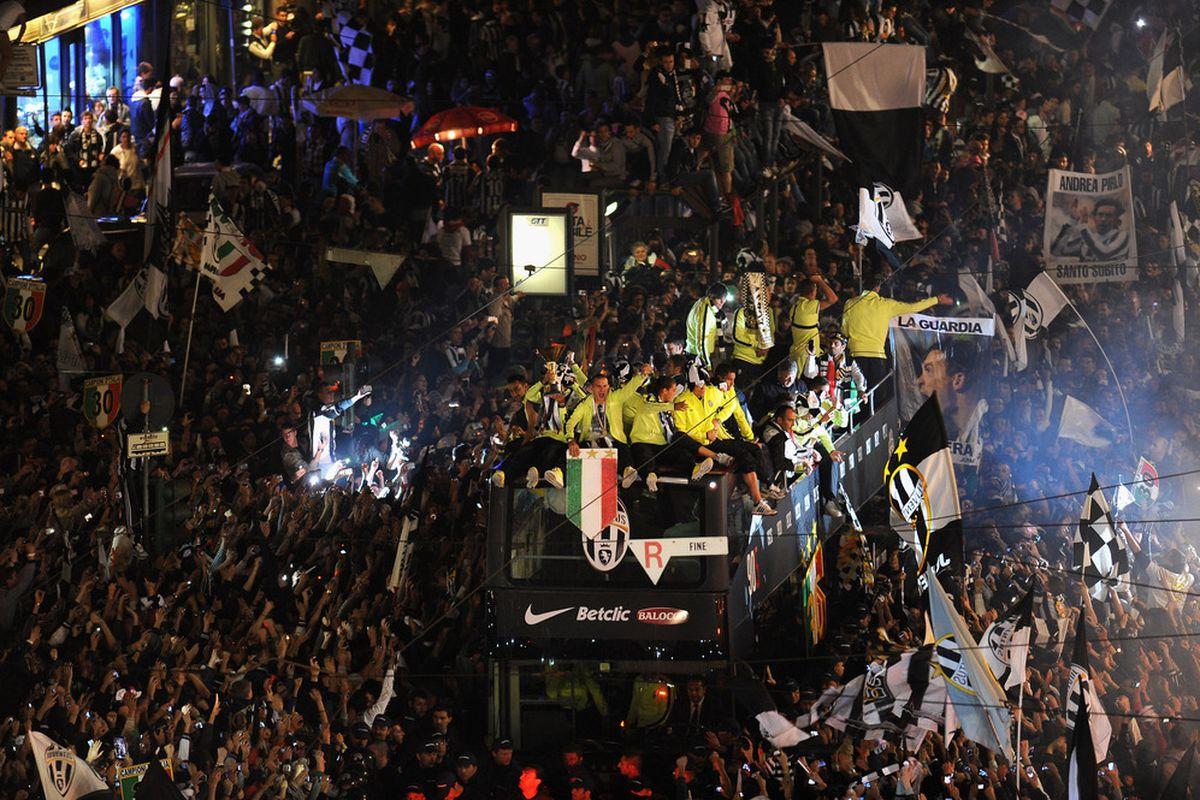 Everybody loves a Scudetto parade!