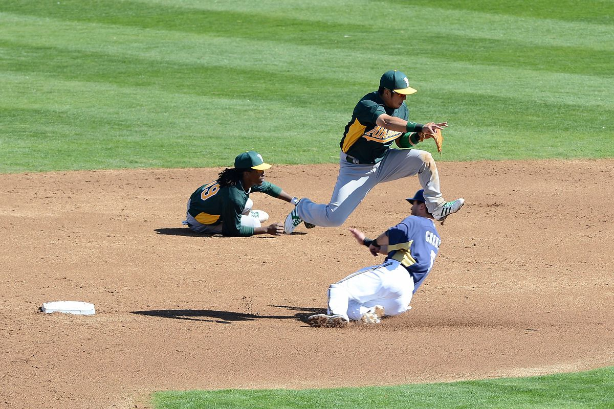 Through clever platooning, the A's literally have two players at every position.