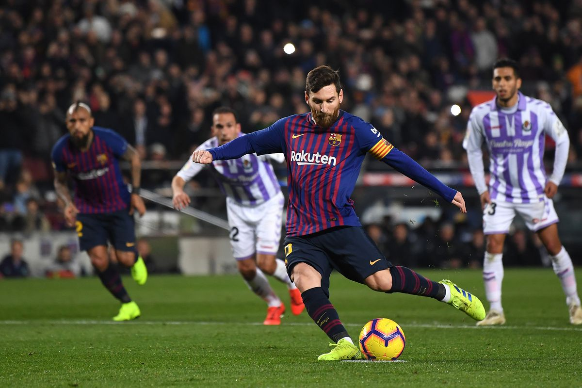 Barcelona vs Real Valladolid full time: Lionel Messi ...