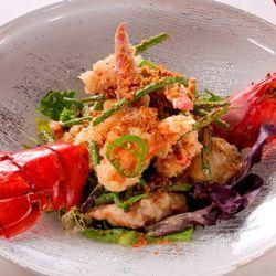 5 Spice Garlic Lobster