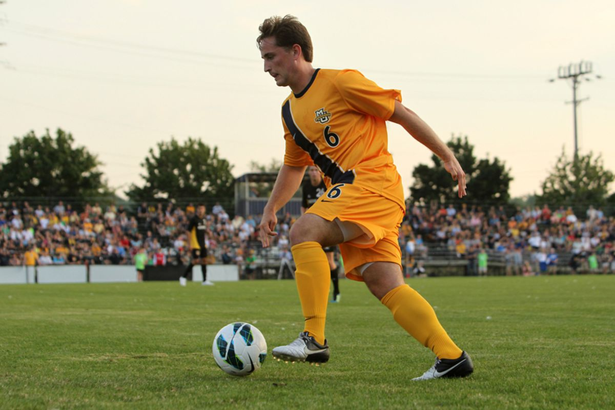 Ryan Robb was one of three seniors to see his collegiate career come to an end on Sunday evening.