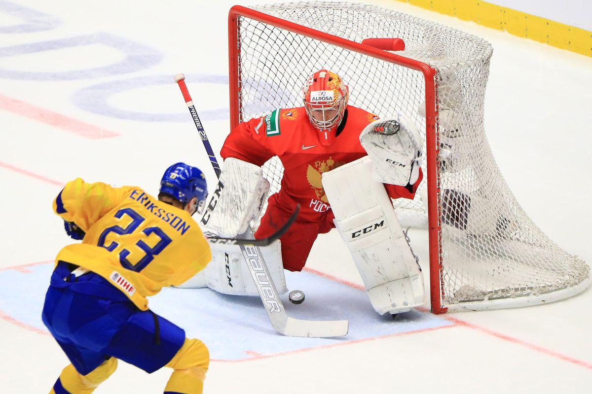 2020 World Junior Ice Hockey Championship, Semifinals: Sweden vs Russia