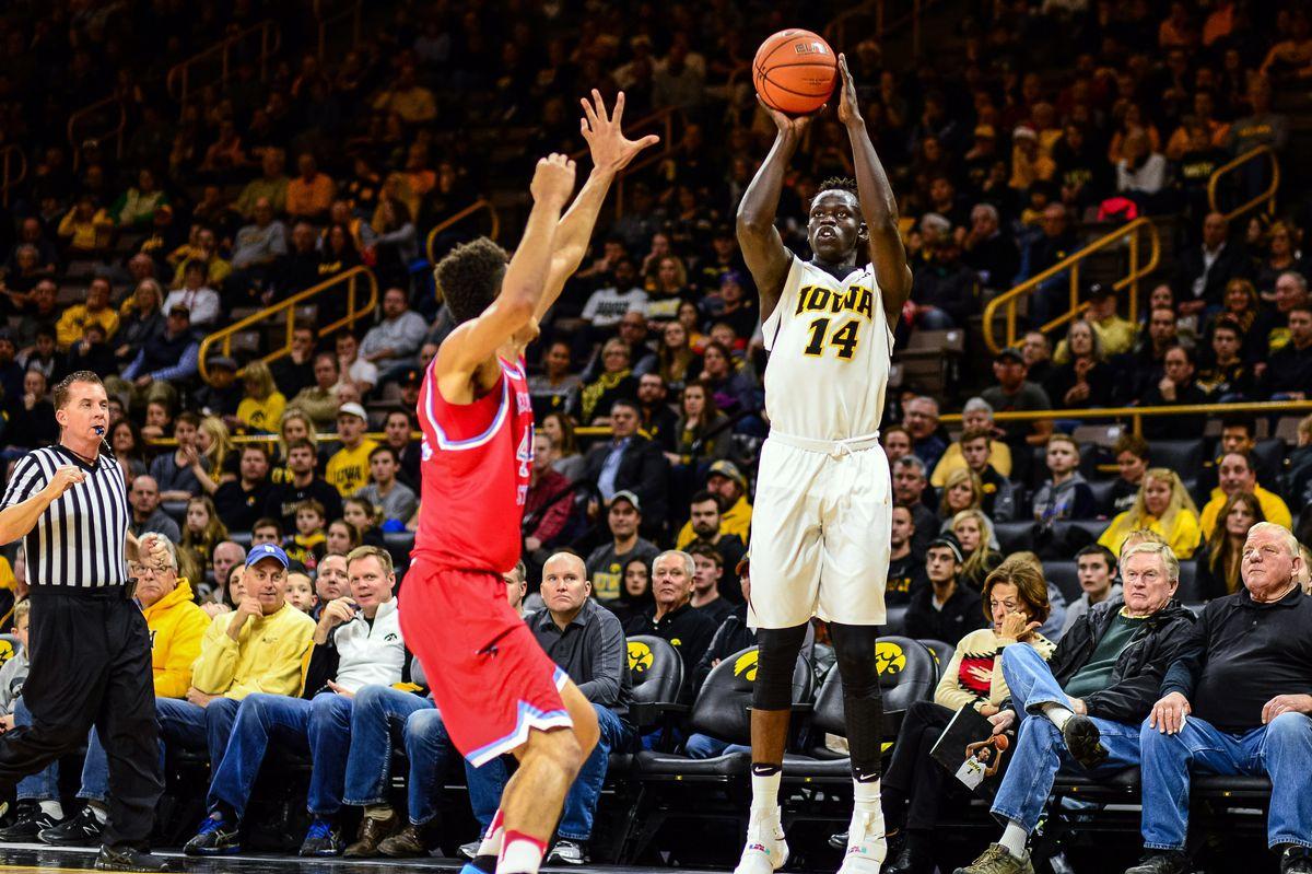 NCAA Basketball: Delaware State at Iowa