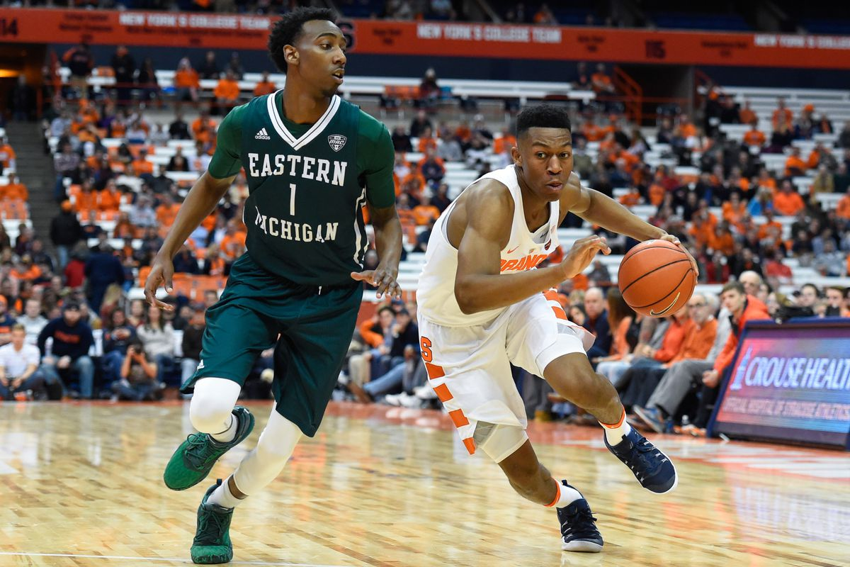 Syracuse vs. Eastern Michigan: TV/streaming, time, odds ...