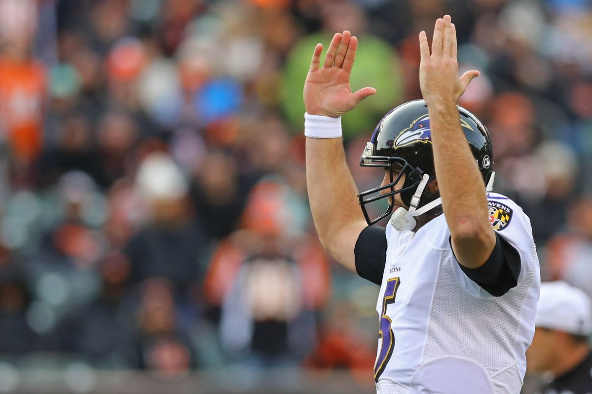flacco is in elite company for this stat