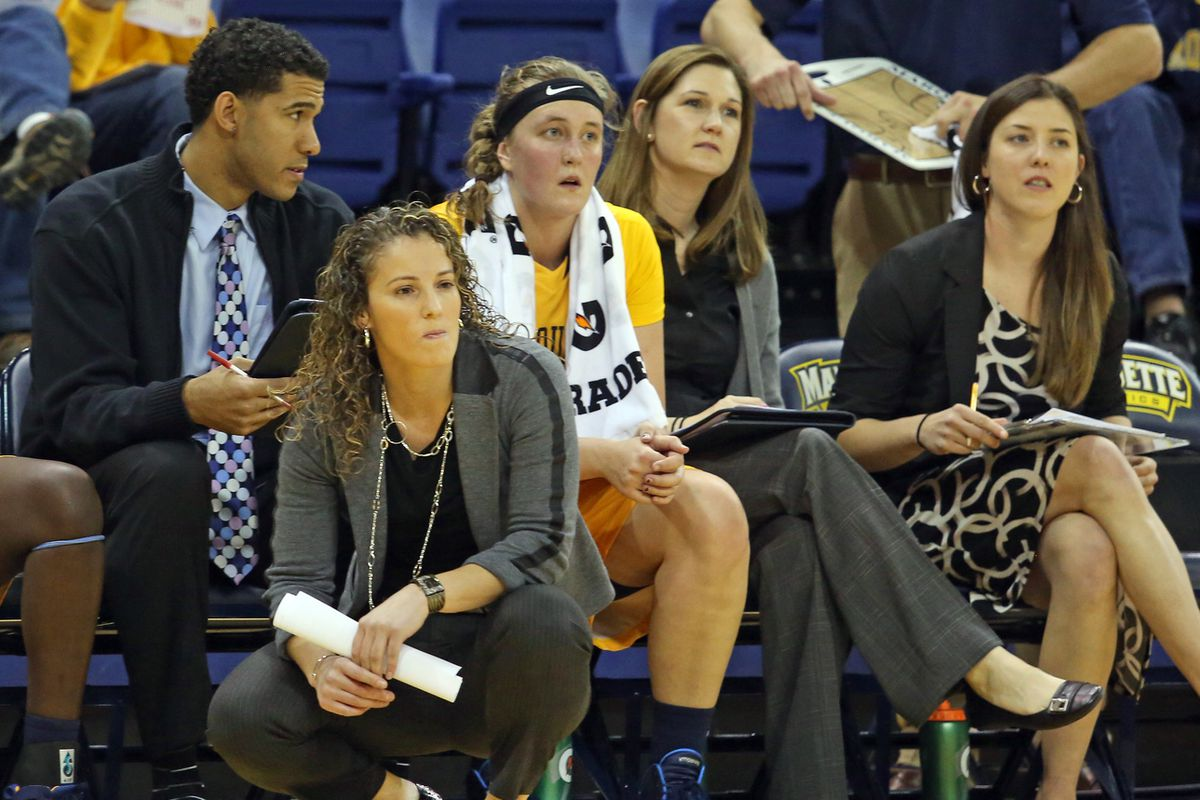 It's the first official game for Carolyn Kieger and her coaching staff.