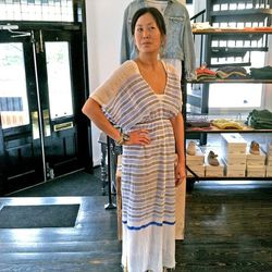 """""""Our customers love LemLem for travel, beach, and running around town."""" (Dress, $218)"""