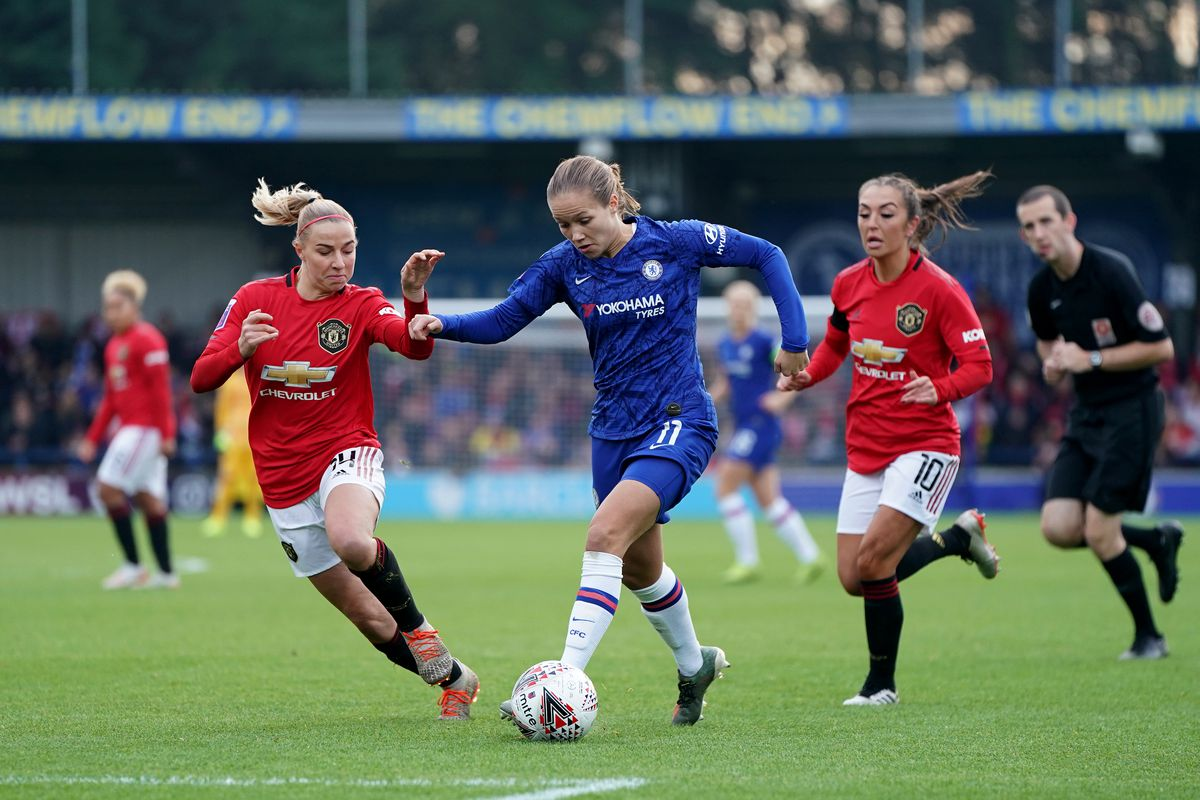 Manchester United WFC vs. Chelsea FCW, Conti Cup Semifinal ...