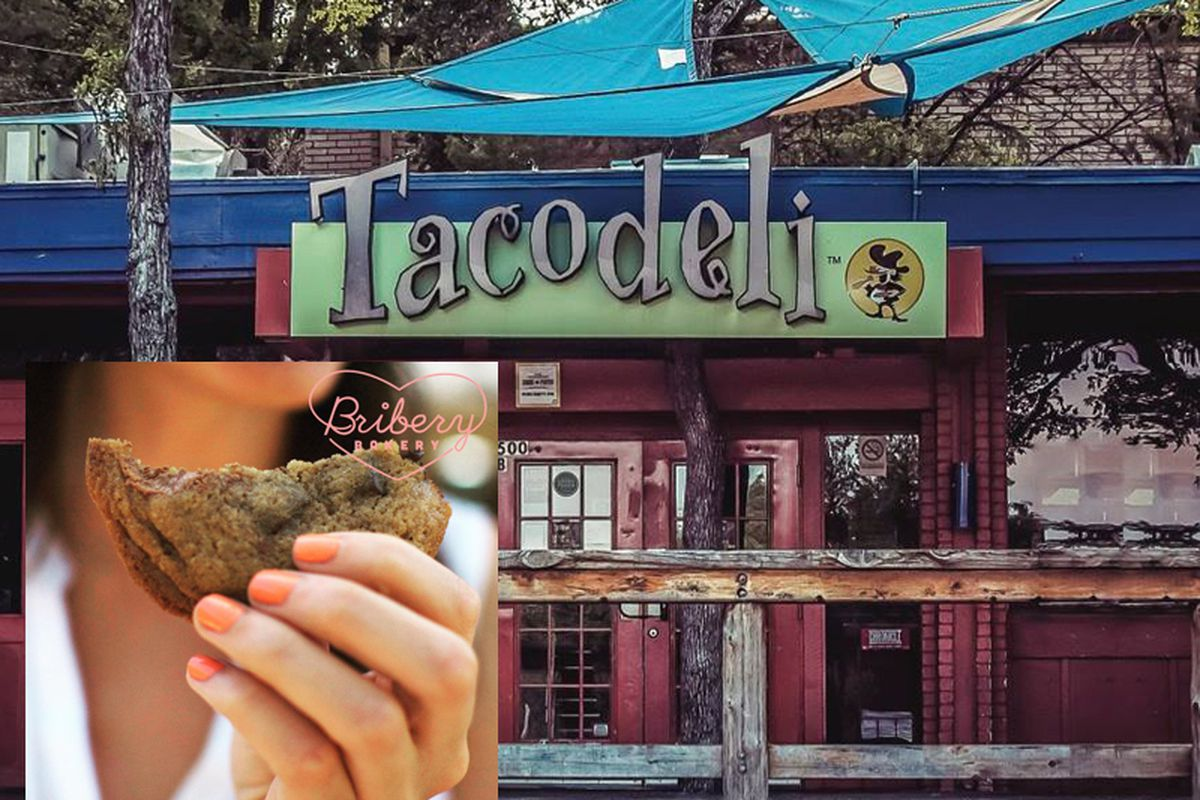Bribery Bakery's cookie for Tacodeli