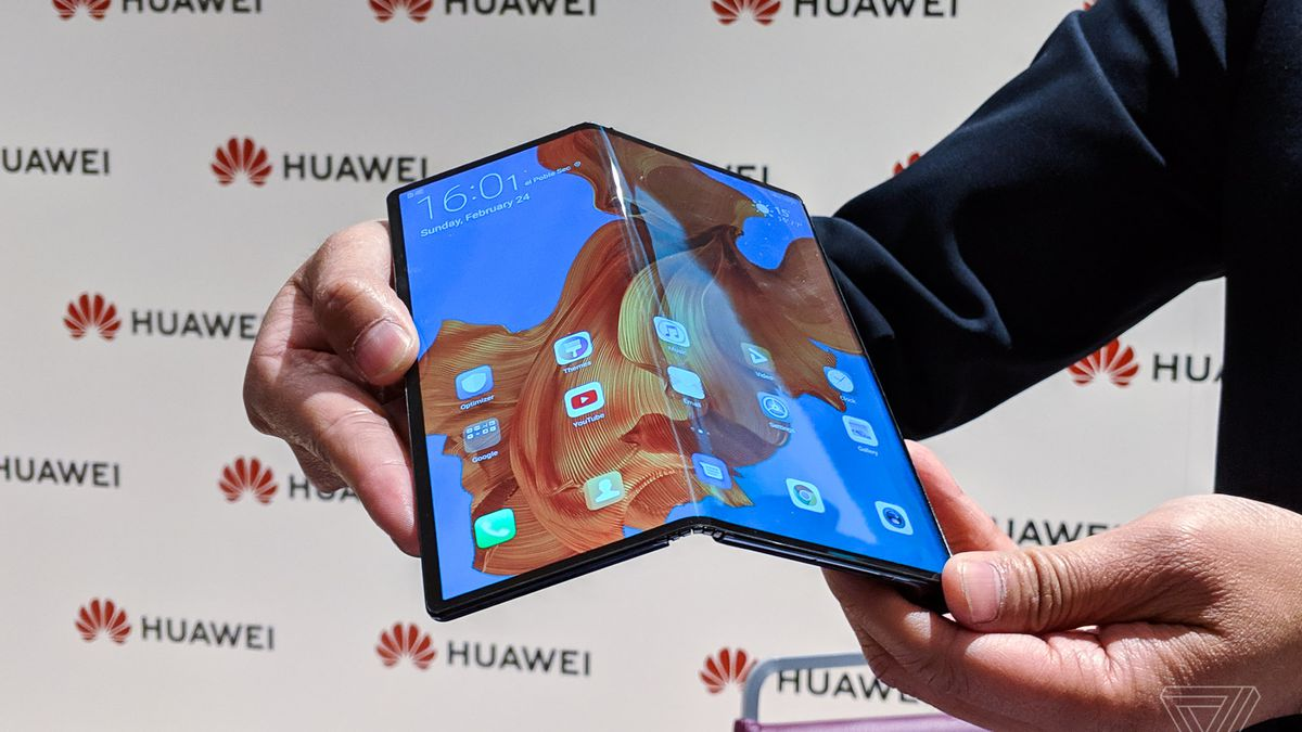 Huawei's Mate X is the best first draft of a foldable phone