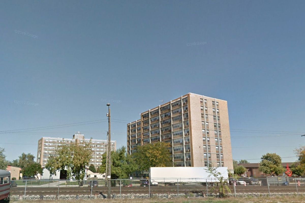 Timothy Farkas lived at the Renaissance Towers, 535 Logan Dr.
