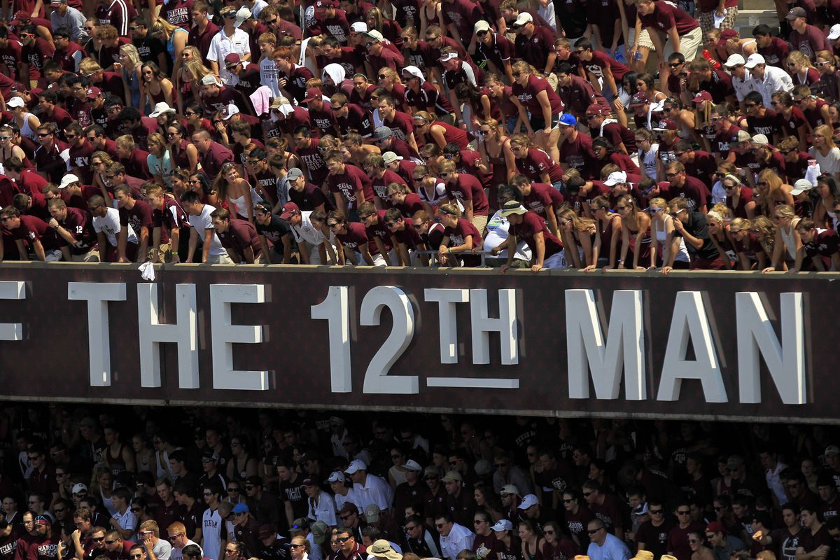 With the largest student pull ever, the 12th man will be in force Saturday.