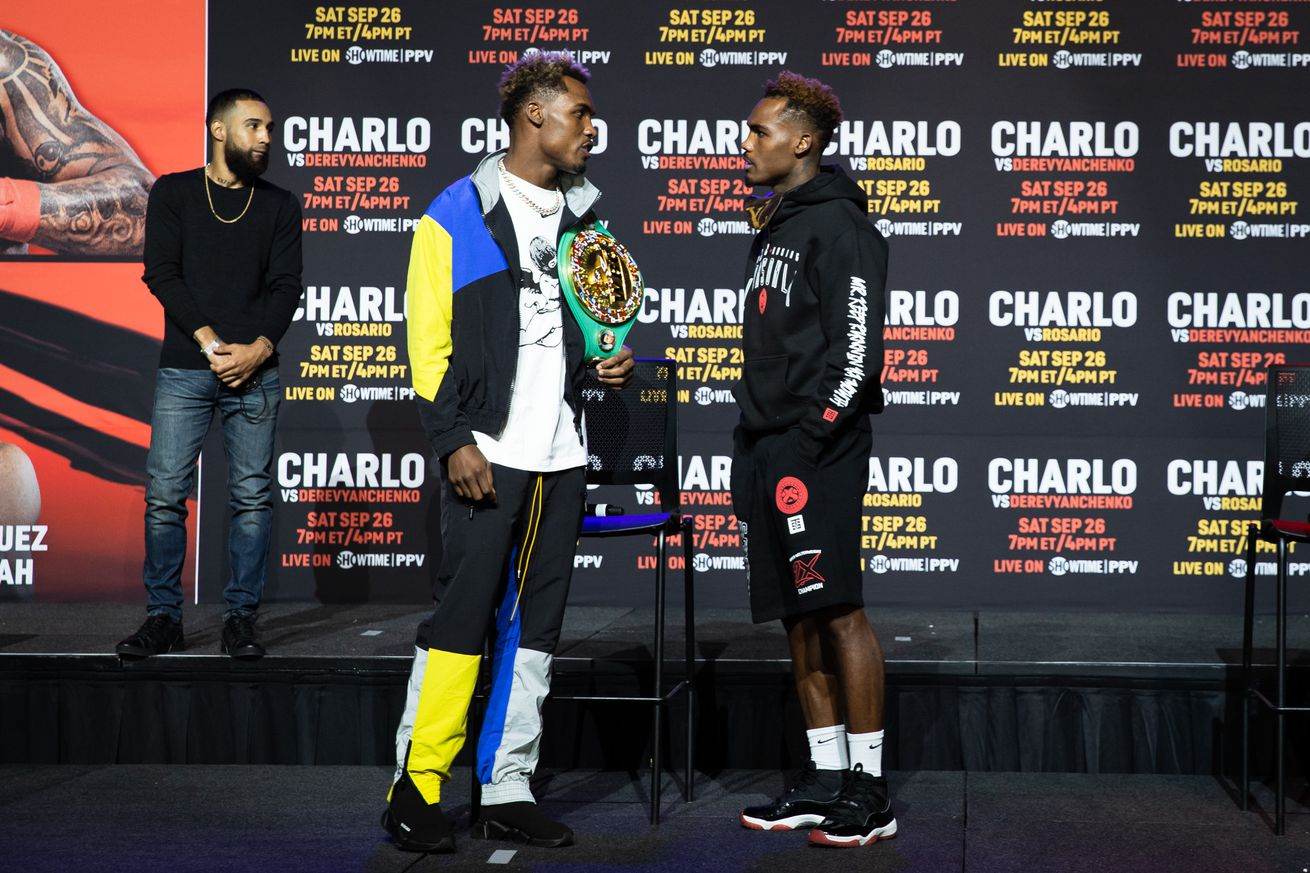 SHO Charlo Doubleheader Presser 036.0 - Boxing pros make their picks: Will the Charlo twins win their doubleheader?