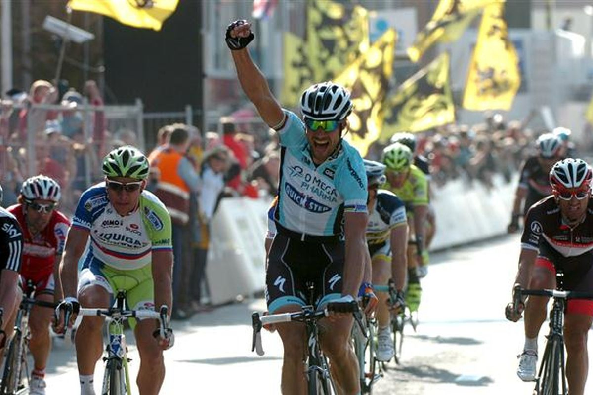Boonen won Gent-Wevelgem in sprint finishes in 2011 and 2012. Can he go three for three?
