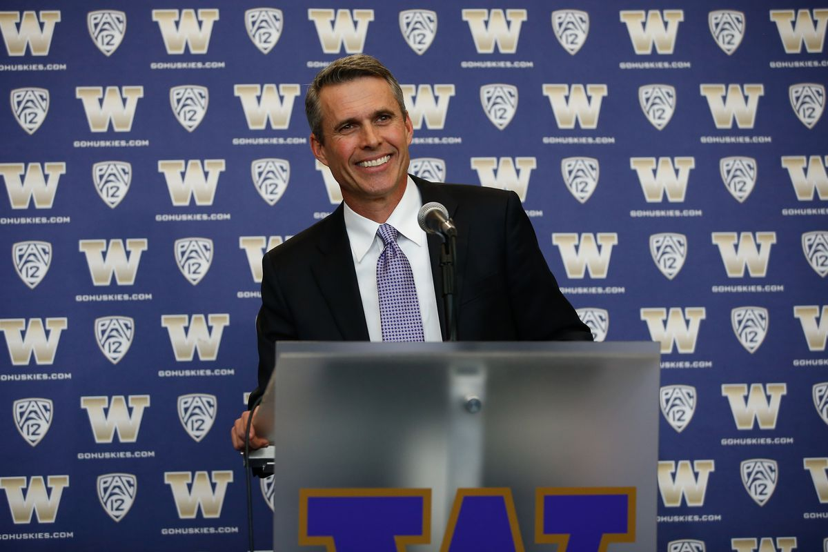 Chris Petersen makes his first Pac-12 Media Day appearance today