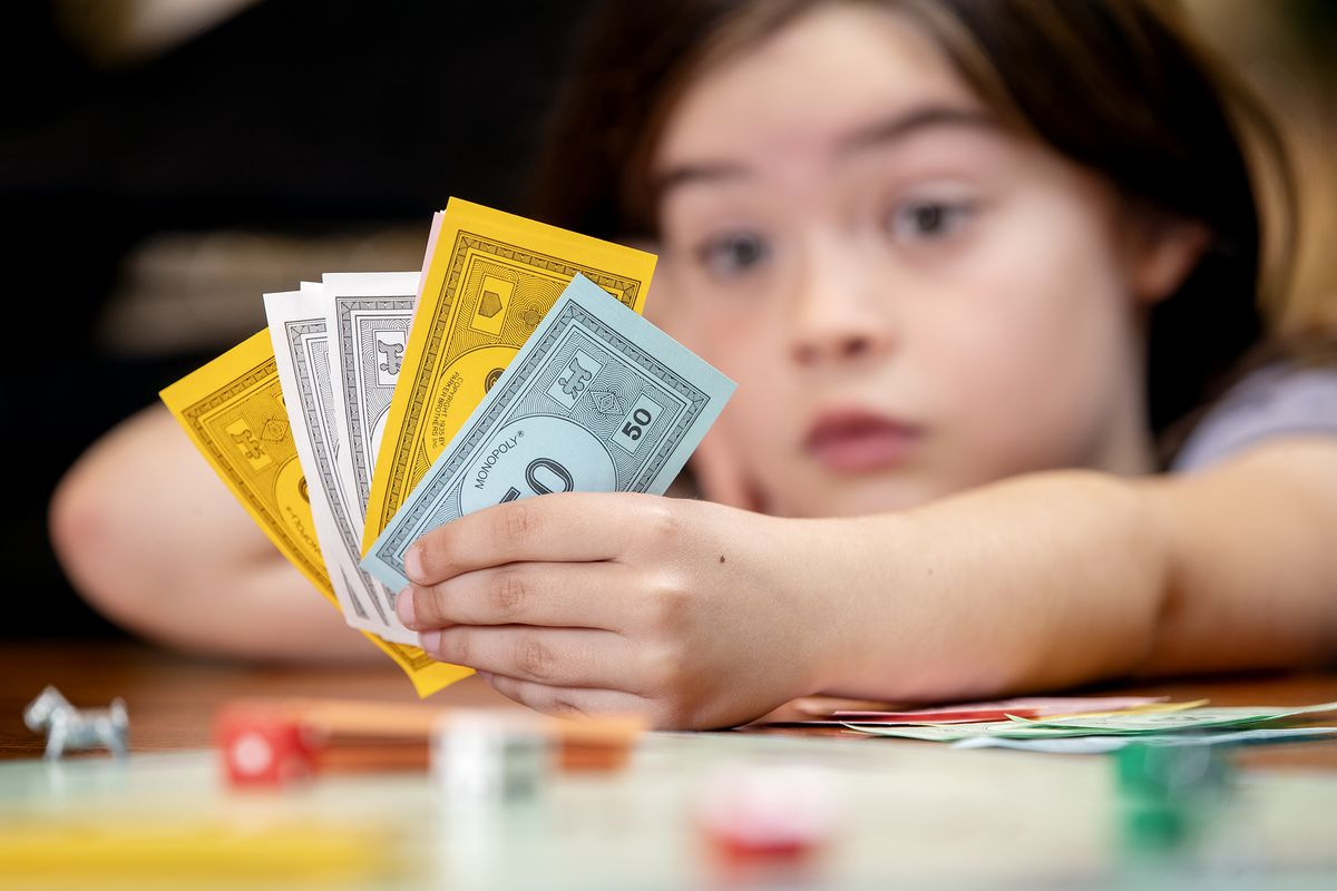 Image result for kid and money