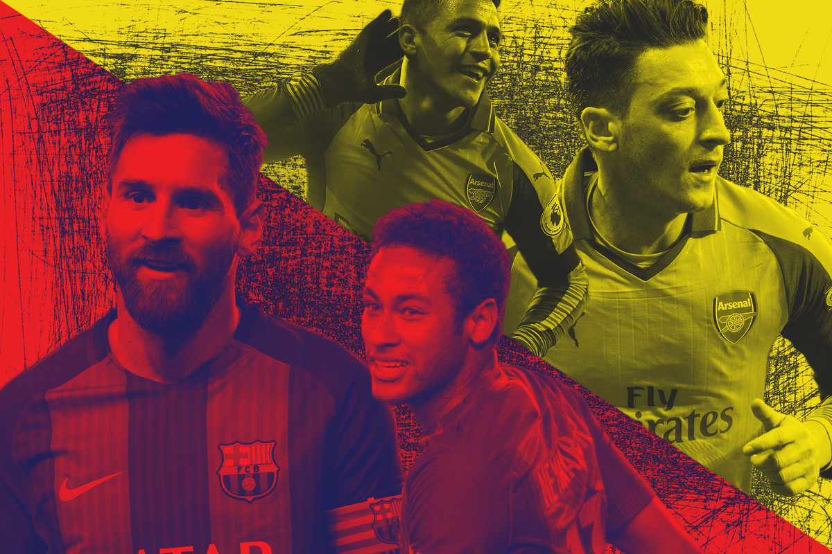 4b254cad5 Would You Rather Manage Arsenal or Barcelona? - The Ringer