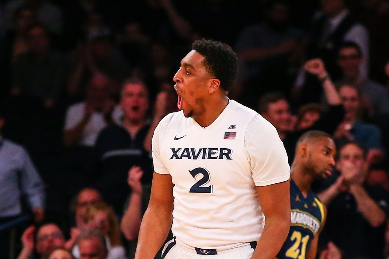 NCAA BASKETBALL: MAR 10 Big East Tournament - Xavier v Marquette