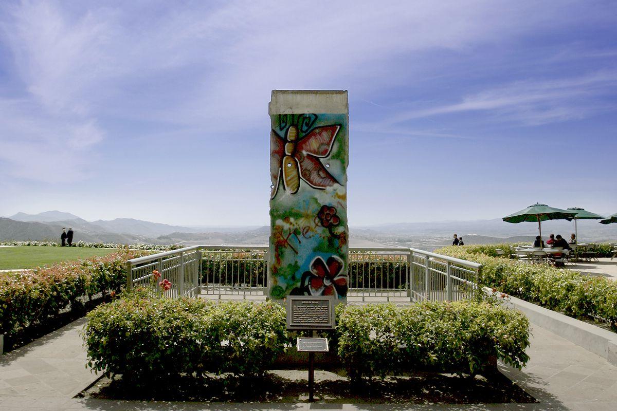 USA - Ronald Reagan Presidential Library - Berlin Wall