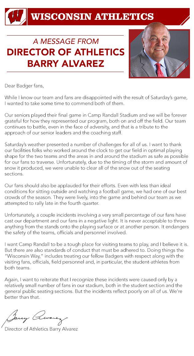 Barry Alvarez email