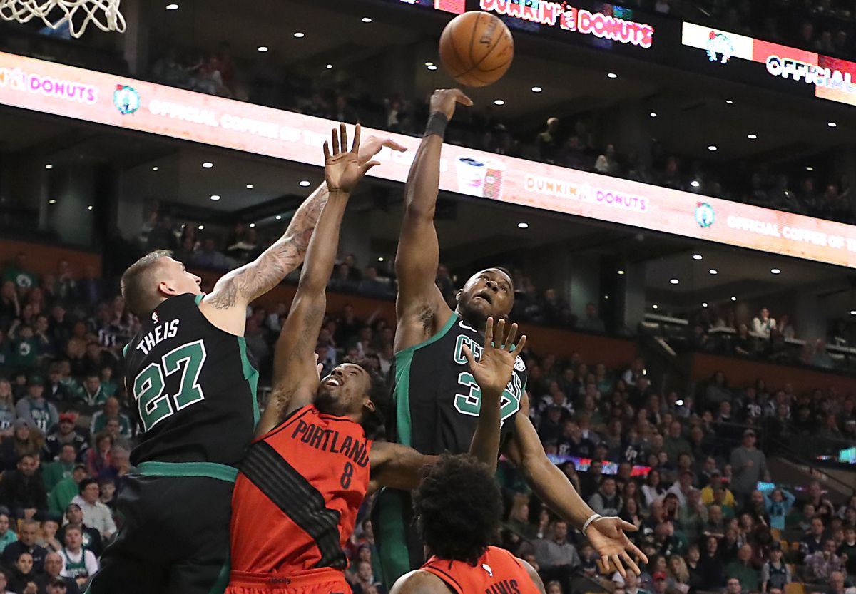 Portland Trail Blazers Vs Boston Celtics At TD Garden