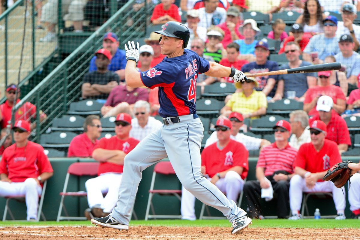 It's Opening Day in Columbus for Cord Phelps, despite an excellent spring