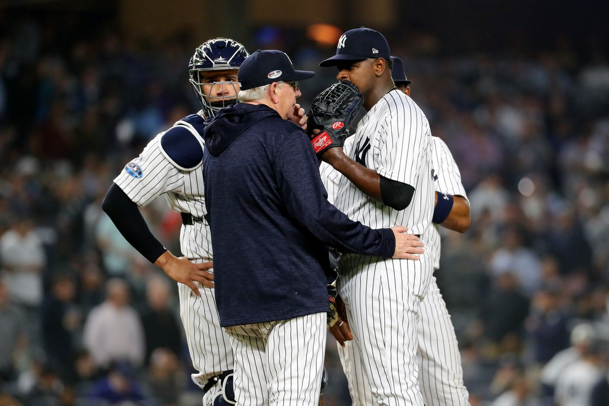 new style b5dd7 da2de Projecting the New York Yankees playoff pitching usage (way ...